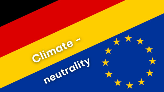 Teaser picture climate neutrality in GER and EU